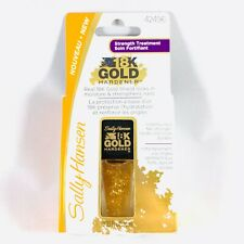 Sally Hansen 18K Gold Hardener real 18k gold shield strengthens nails #42496