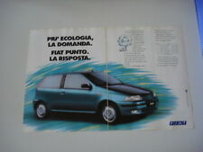 advertising Pubblicità 1993 FIAT PUNTO 75