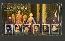 GB 2009 Presentation Pack KIngs and Queens The House of Tudor stamps
