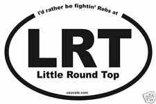 Bumper Sticker, Little Round Top ( LRT ), Civil War
