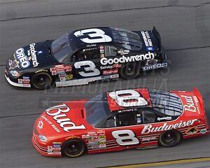 Dale Earnhardt Dale Earnhardt Jr racing  8x10 11x14 16x20 photo  016