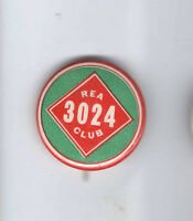 Vintage pin REA Club pinback #ed 3024 button DAIRY badge ICE CREAM