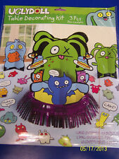 Uglydoll Ugly Dolls Cartoon Kids Birthday Party Supplies Table Decorating Kit