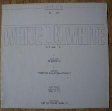 "VARIOUS ARTISTS White On White 12""-Maxi/GER/PROMO Limited Edition - White Vinyl"