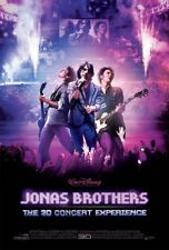 JONAS BROTHERS 3D CONCERT EXPERIENCE MOVIE POSTER ORIGINAL DS Ver B 27x40