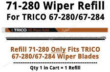 TRICO HD Wiper Refill fits TRICO 67-281/67-284 ONLY (1 Refill) - 71-280