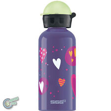 SIGG 8505.60 62719 400ml Aluminum Water Drink Bottle Glow Heartballons