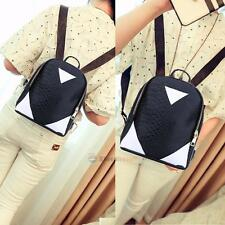 Fashion Women's PU Small Travel Satchel Shoulder Bag Backpack School Rucksack