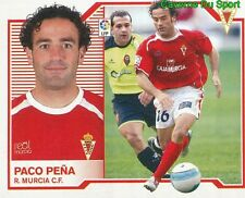 PACO PENA ESPANA REAL MURCIA.CF STICKER LIGA ESTE 2008 PANINI