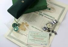 Extremely Rare Rolex Super Precision ref 6548 Full Set: Original Box/Papers 1958