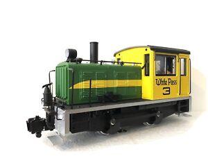 LGB 26630 G Scale Switcher Locomotive - White Pass #3