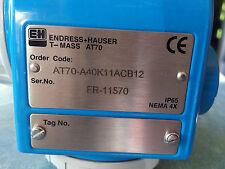 Endress Hauser AT70-A40K11ACB12 T-Mass Flow Transmitter HART 4-20mA air gas