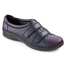 Hotter Womens Leap Navy/Loganberry Wide Fitting Shoes UK4.5 EU37.5 JS077 JJ 09