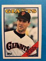 1988 Topps  Complete Team Set of  San Francisco Giants Baseball Cards