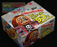2019 GARBAGE PAIL KIDS WE HATE THE 90S SEALED DISPLAY BOX 24PKS SKETCH PLATE