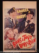 MIDNIGHT PATROL Stan Laurel & Oliver Hardy 1933 Hal Roach Studios