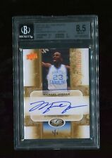 Michael Jordan 2011 Upper Deck All-Time Greats Gold On-Card Auto #1/1 BGS 8.5 10