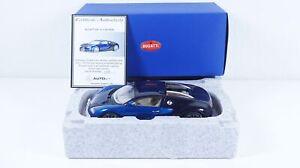 1:18--AUTOart--70903..Bugatti EB 16.4 Veyron Showcar mit Zertifikat   / 41 E 385