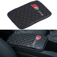 Car Armrest Cushion Soft Leather Auto Center Console Pad Cover fit for Audi