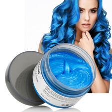 120g Blue Hair Color Wax Hair Wax Easy Color Hair Wax for Halloween UK Shipping