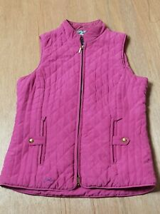 joules gilet size UK 10 in excellent condition colour pink Jacket