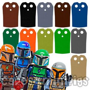 4 CUSTOM capes for your Lego Boba Fett Mandalorian 2020 minifig. NO MINIFIGURE