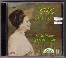 sealed egypt arabic CD Om Kolthoum Kolthom Umm Kulthum Gadedt Hobak middle east