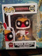 Funko Pop! Vinyl Figure - Marvel #323 - Chicken Deadpool - Amazon Exclusive!!