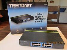 TRENDnet  TEG (TEG-S16Dg) 16-Ports External Switch