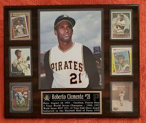 Roberto Clemente Pittsburgh Pirates Plaque