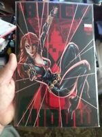 BLACK WIDOW #3 J. SCOTT CAMPBELL NYCC 2020 EXCLUSIVE Glow In the Dark copy #976