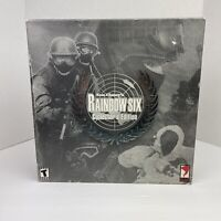 Vintage 2000 Tom Clancy's Rainbow Six Collector's Edition PC