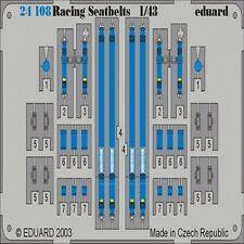 EDUARD MODELS 1/43 Racing Car Seatbelts- Willans 4-Points Blue EDU24108
