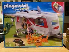 Playmobil Summer Fun Camper/Caravan Playset (#5434) 141pcs New in Sealed Box!