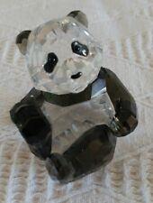 Swarovski Crystal Panda Cub Annual Members Limited Edition Retired 2008 905543