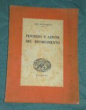 Luigi Salvatorelli Pensiero e Azione del Risorgimento 1943