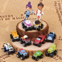 BLAZE AND THE MONSTER MACHINES 12 Figure Set PVC TOY Cake Topper Xams Gift