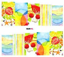 Nail Art Sticker Water Decals Transfers Decorative Art Summer Fruit (DC266)