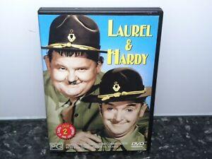 LAUREL and HARDY - REGION 4 - DVD - GC