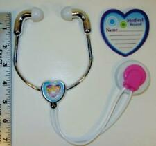 "Nurse, Doctor Stethoscope & Chart Fits 18"" American Girl Doll Accessories HRT"