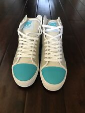 NWB PF FLYERS GLIDE HIGH TOP MENS ATHLETIC SHOES SIZE 10 TEAL