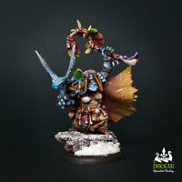 Kolgrima Stonetruth, Winter Witch hordes trollbloods ** COMMISSION ** painting