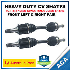 2 x CV Joint Shaft for Toyota Hilux GGN25R KUN25R KUN26R SR5 (Standard Height)