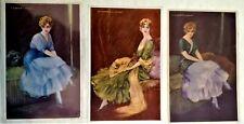 TITO CORBELLA Donnine Serie completa 160 Complete Set of 6 Cards PC Circa 1918