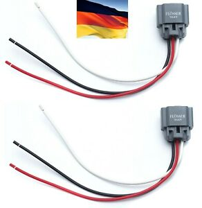 Flosser Wire Harness 9449 Pigtail Female 9008 H13 Headlight High Low Beam Socket