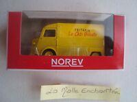 NEW 1/64 3-INCHES CITROEN TUBE HY LA FRITERIE LE CHTI BILOUTE -NOREV