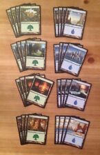 Magic the Gathering lot of 80 Theros basic lands 4 of each art