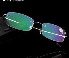 Flexible Titanium-Alloy Reading Glasses Unisex reader +1.00 to +4.00 Ultralight
