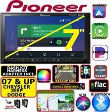Chrysler Jeep Dodge Navigation Bluetooth Usb Aux Carplay Android Auto Car Radio