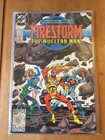 THE FURY OF FIRESTORM #68 (FEB 1988) MILLENIUM CROSSOVER NM DC COMICS